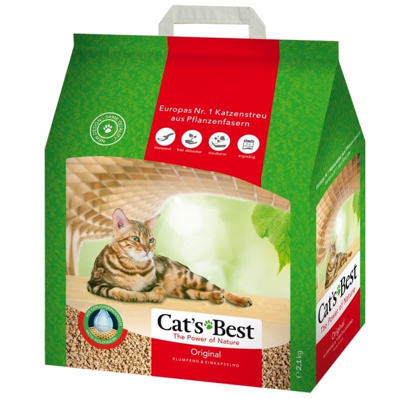 Okoplus Cats Best Original Clumping Cat Litter