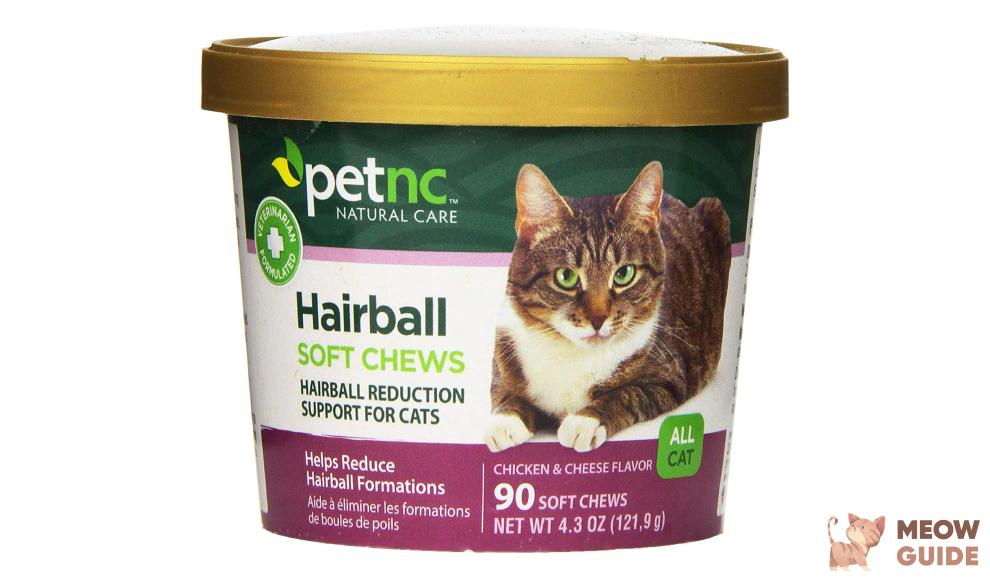 petnc natural care hairball chews
