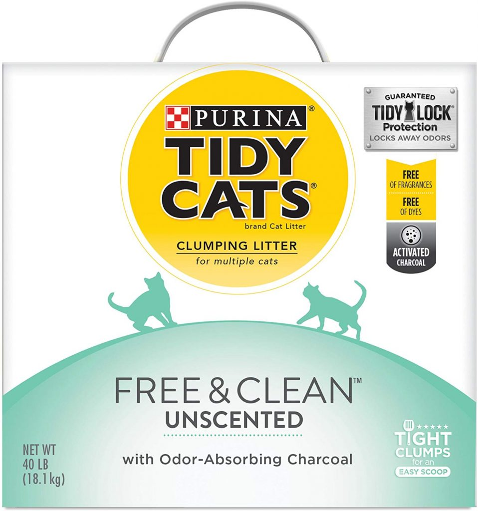 purina tidy cats free clean clumping