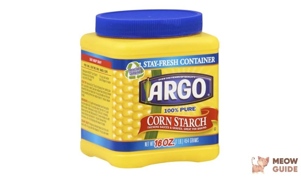 Argo Corn Starch for cats