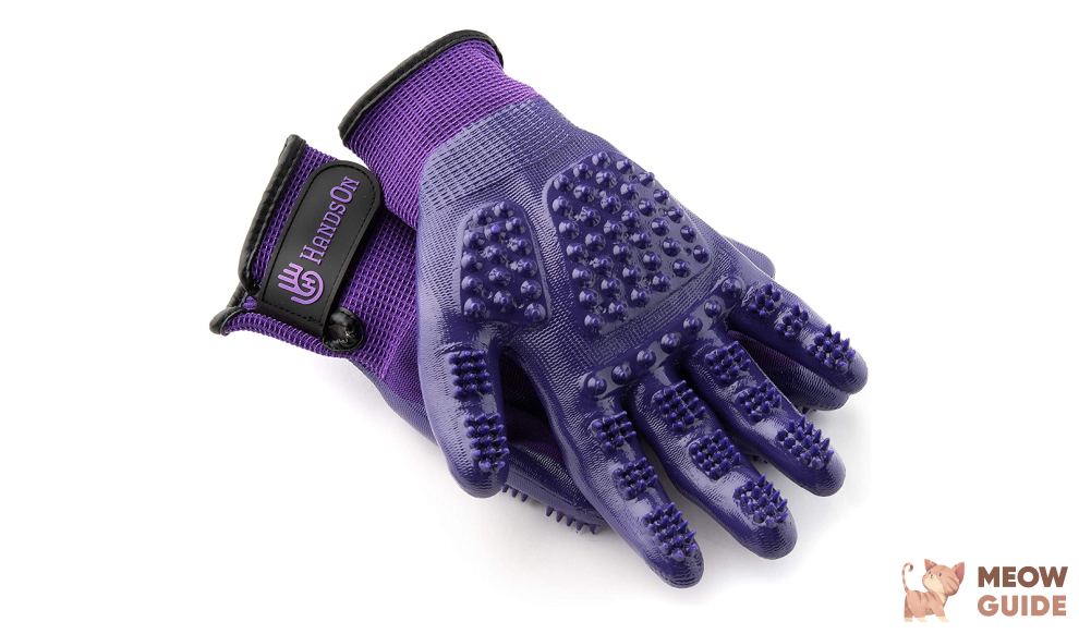 HandsOn Pet Grooming Gloves