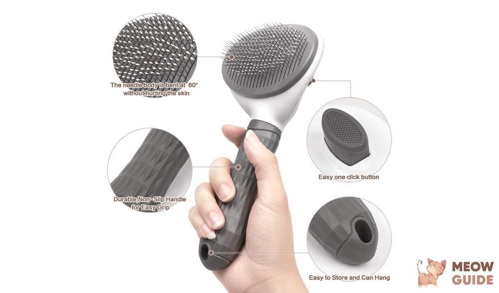 Szlishuo Self Cleaning Slicker Brush